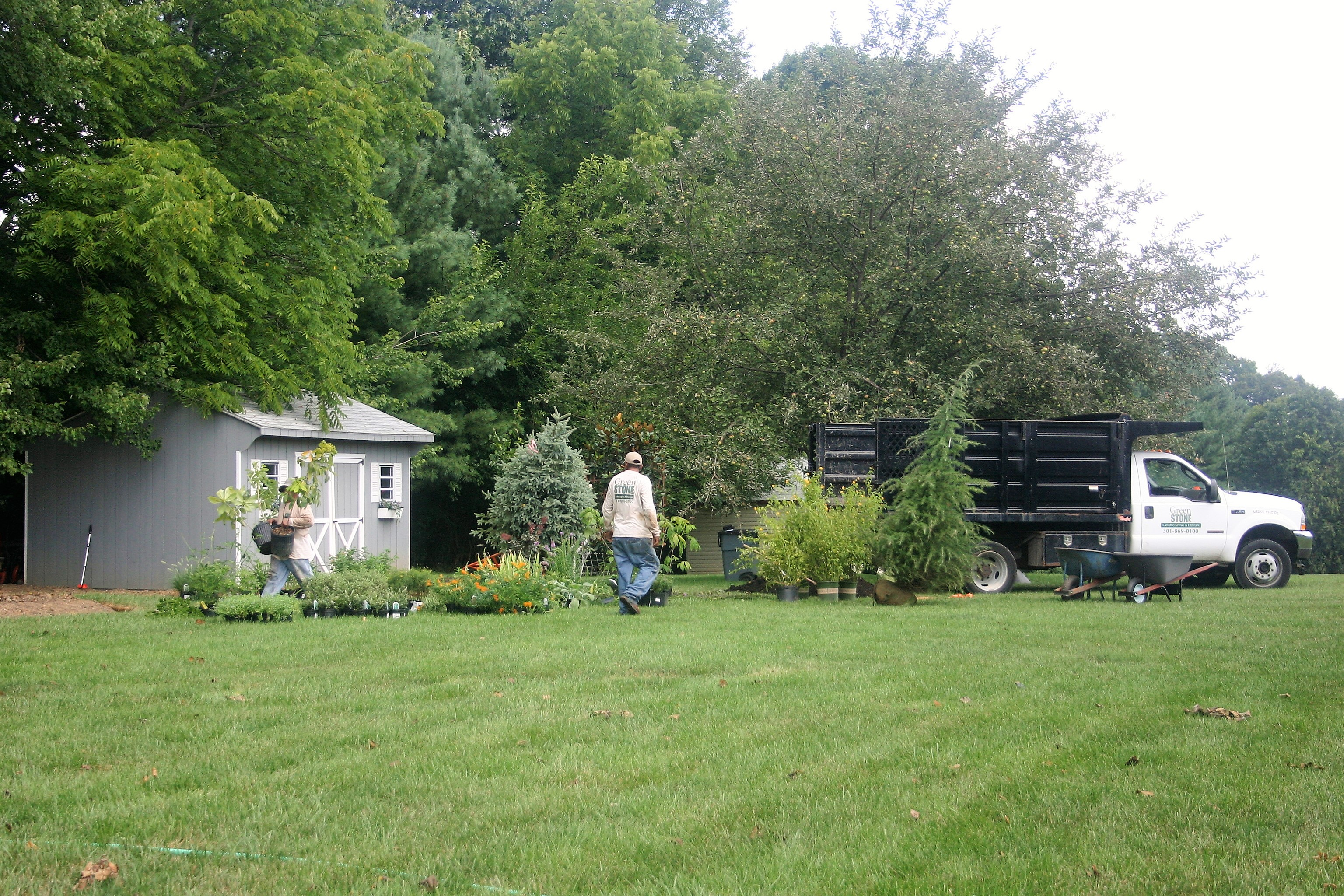 Photo of landscaping work in Laytownville, MD, USA