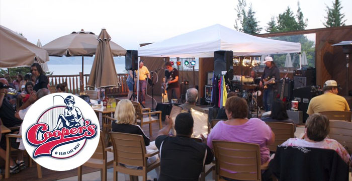 Live Bands at Coopers Sports Bar Bear Lake Event