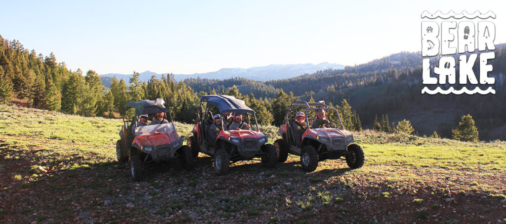 ATV Trails in the Bear Lake Mountains in Utah and Idaho
