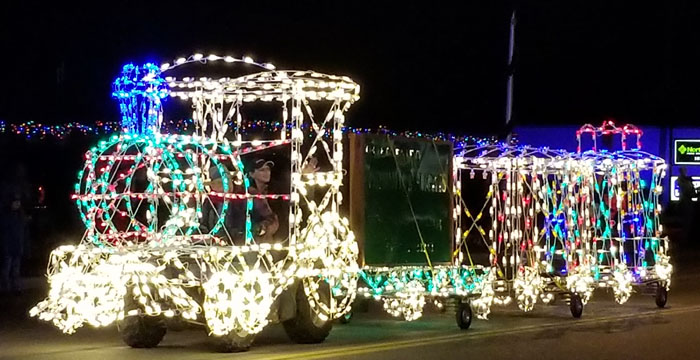 Montpelier Light Up Main Street in Bear Lake