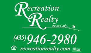 Recreation Realty in Bear Lake Utah and Idaho