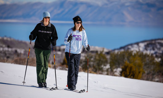 Cross Country Skiing on Bear Lake Trails