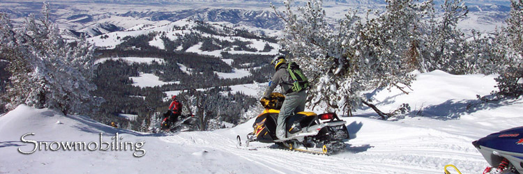 Snowmobiling in the Bear Lake Valley