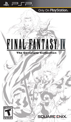 Final Fantasy IV The Complete Collection Cover