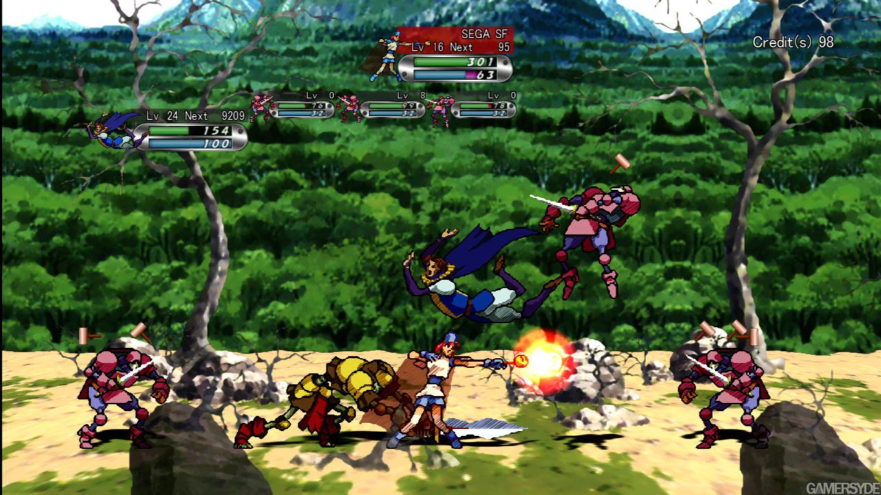 Guardian Heroes Gameplay