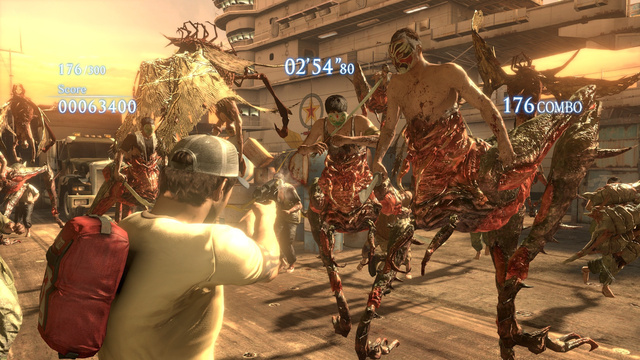 Left 4 Dead 2 Resident Evil 6 Crossover Ellis