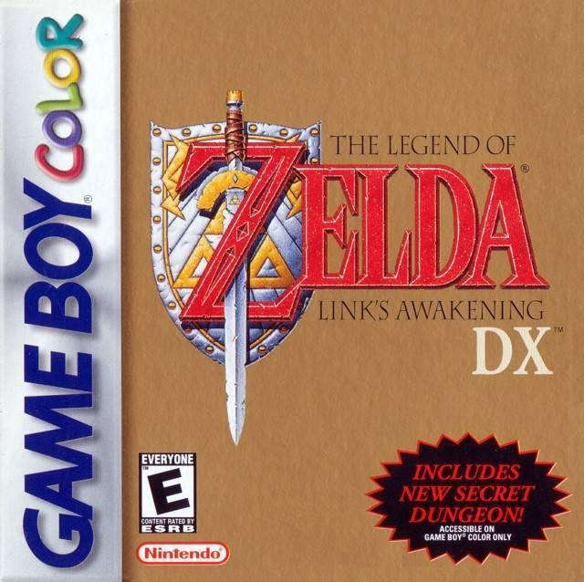 Legend of Zelda Link's Awakening DX Cover