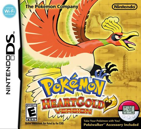 Pokemon HeartGold Cover