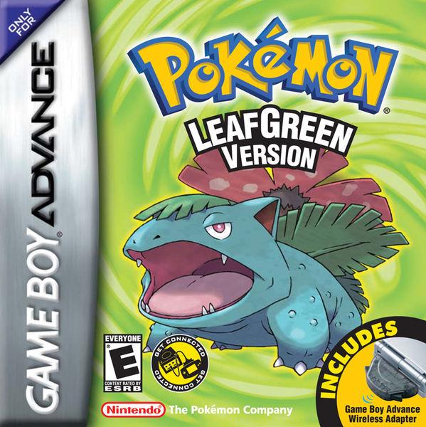 Pokemon Leaf Green Cover