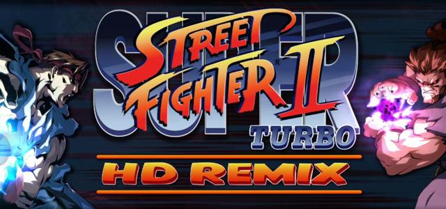 Super Street Fighter II Turbo HD Remix Title
