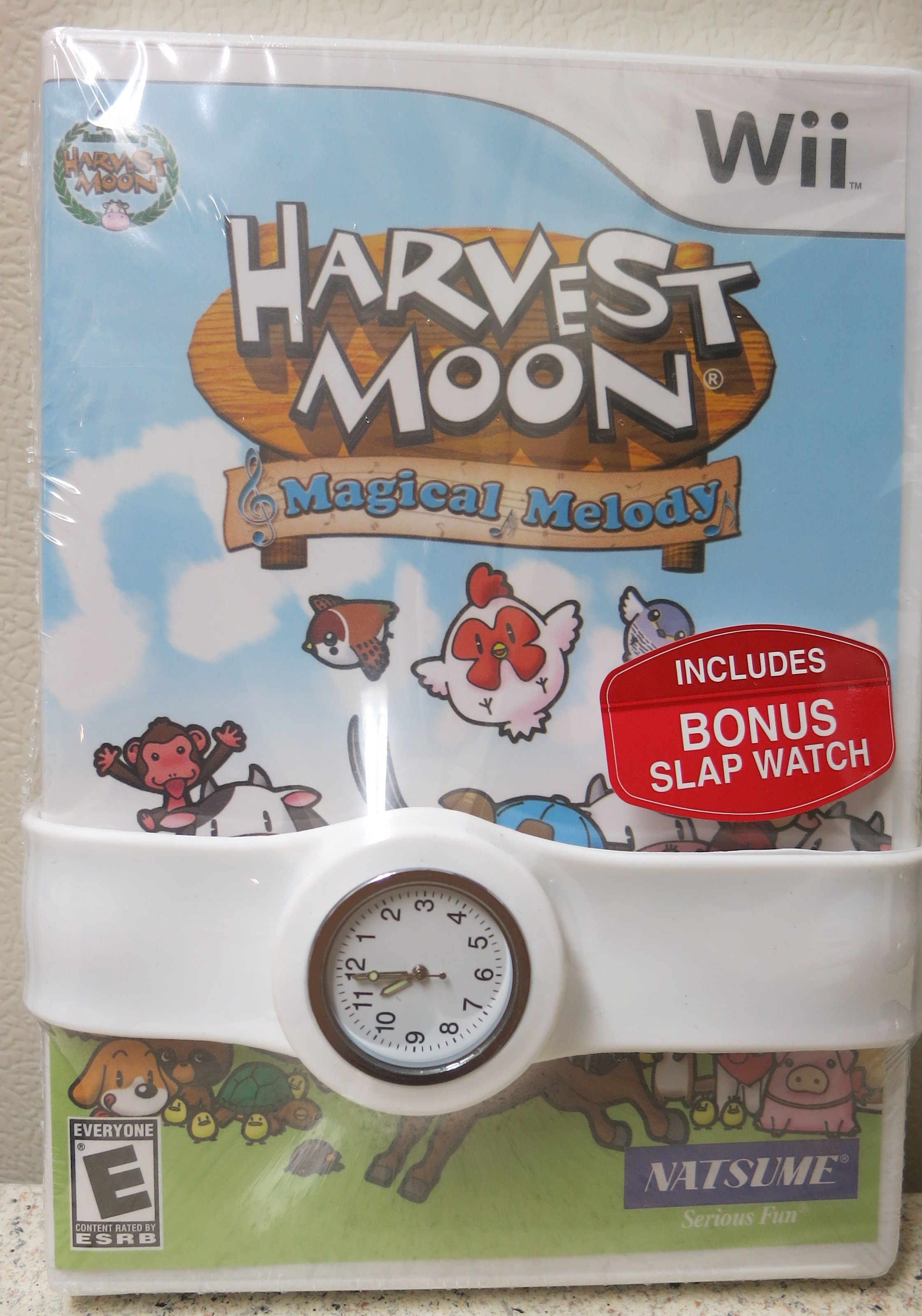 Harvet Moon Magical Melody (Wii) Cover