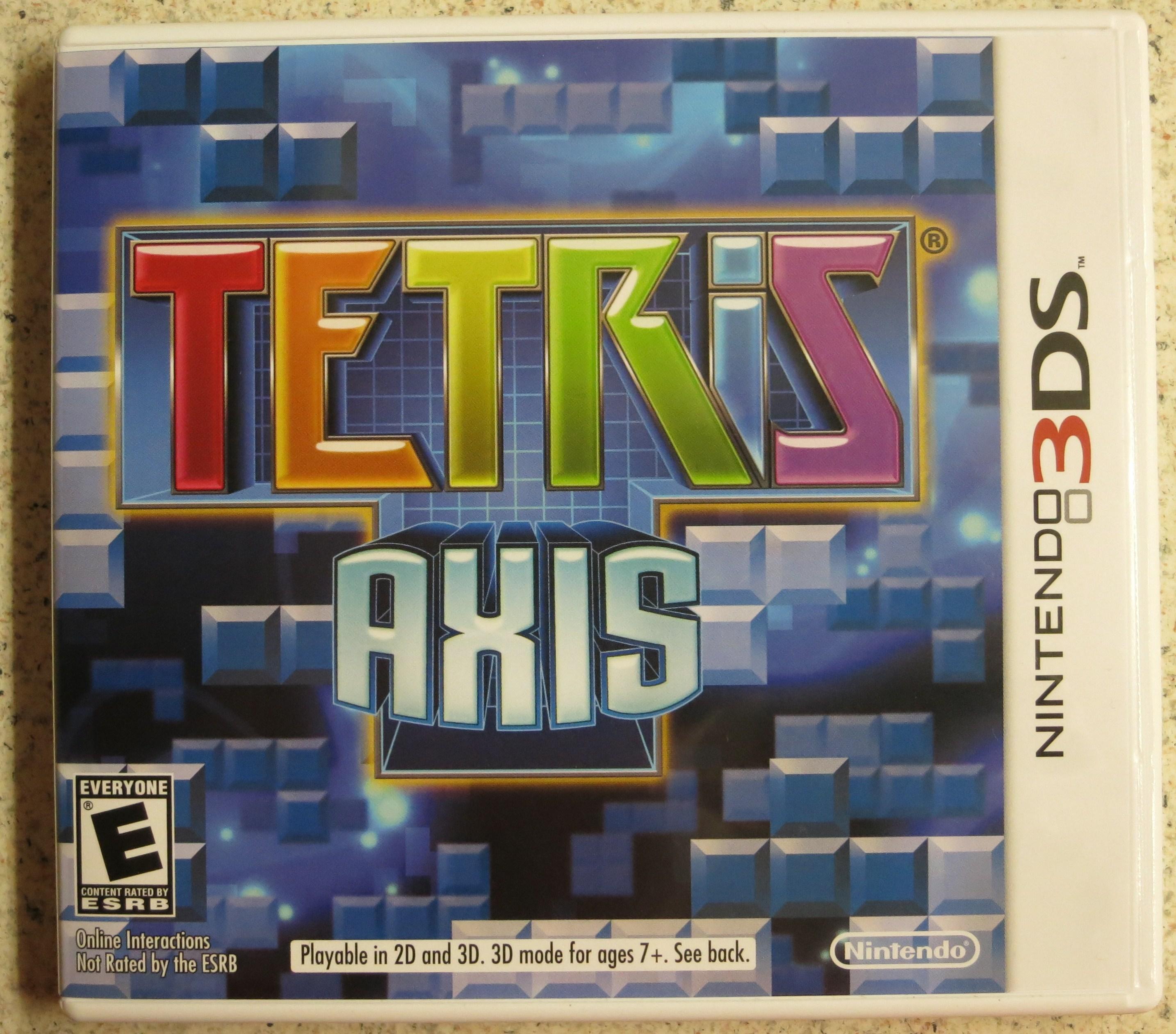 Tetris Axis Cover