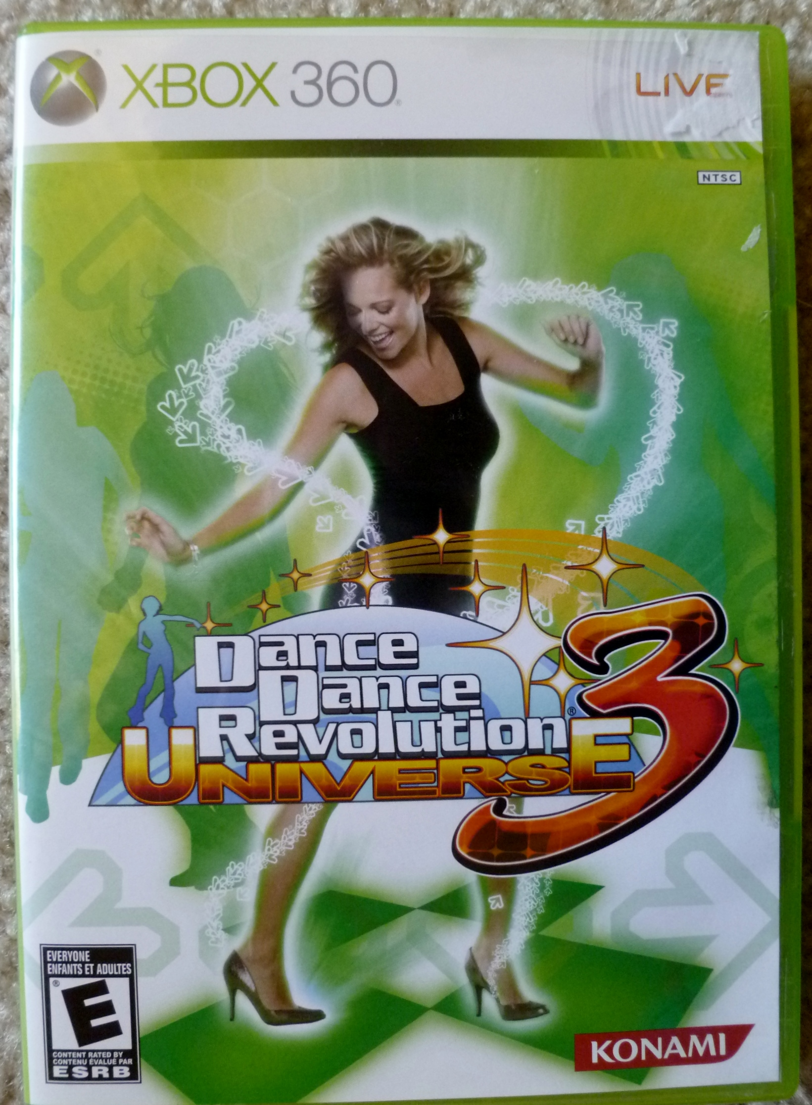 Dance Dance Revolution Universe 3 Cover