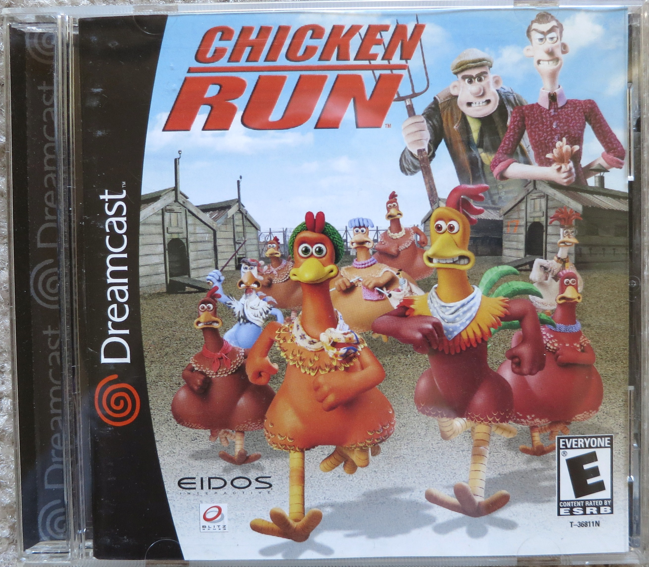Chicken Run Cover