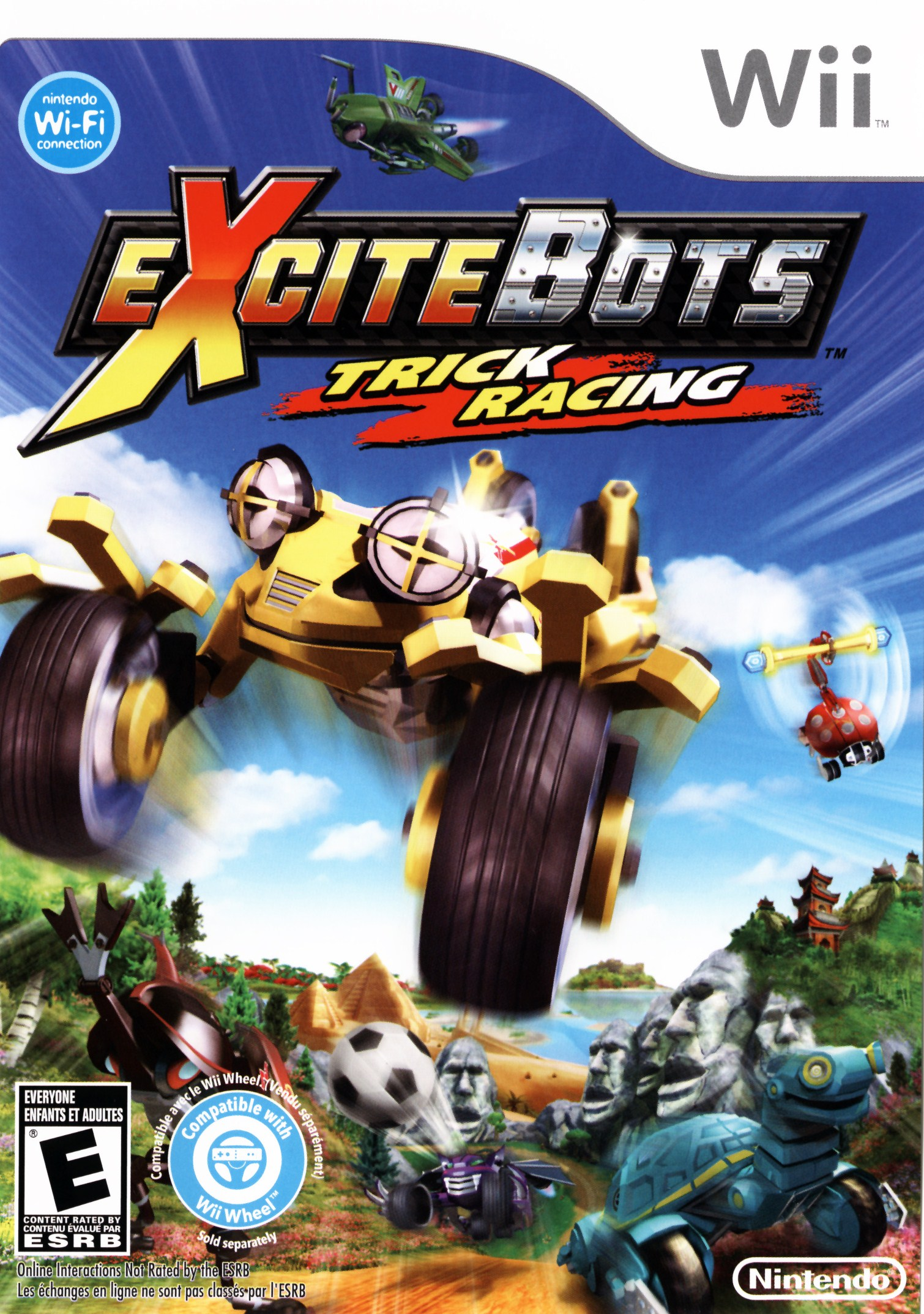 Excitebots Cover