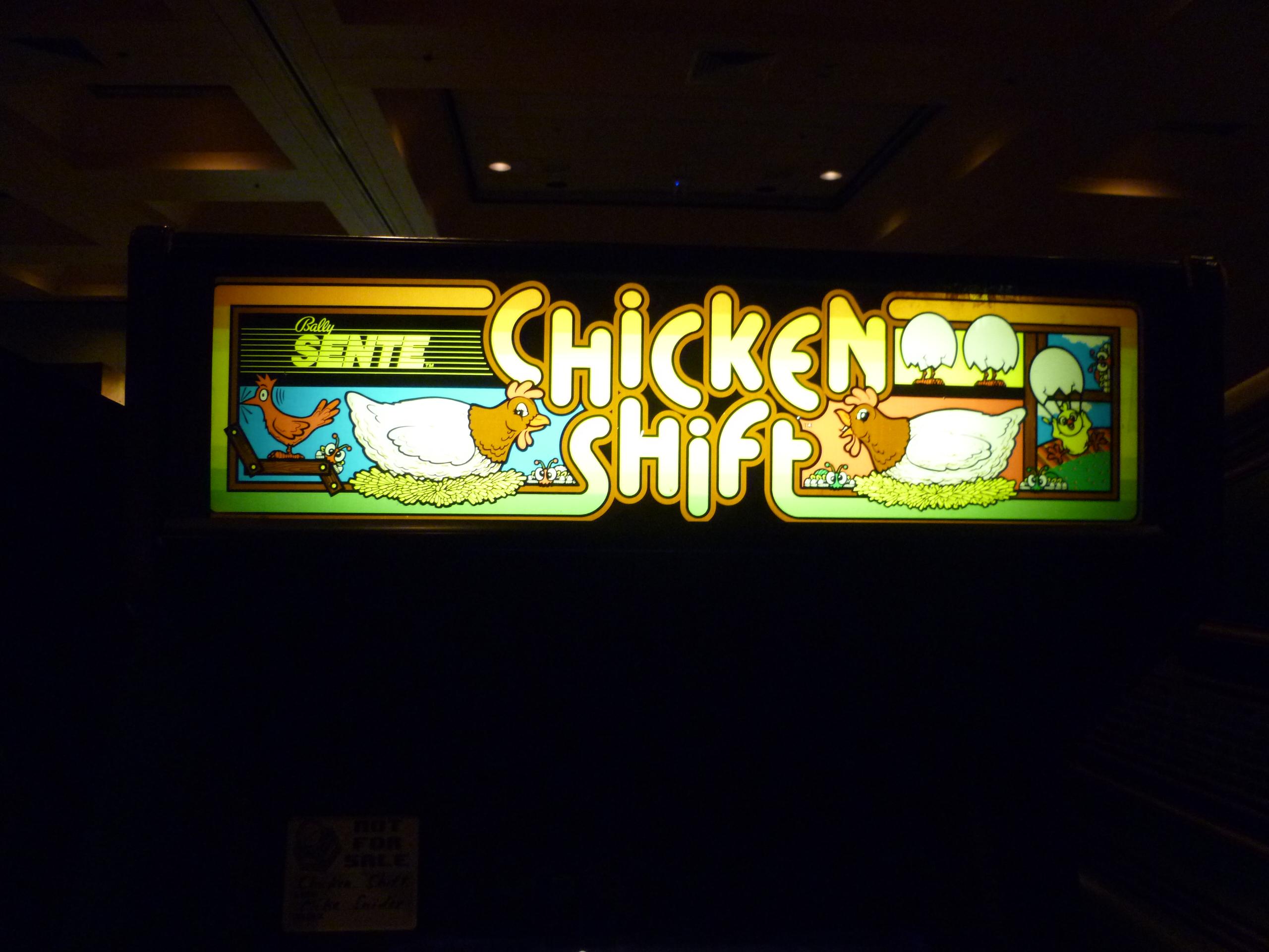Chicken Shift Marquee