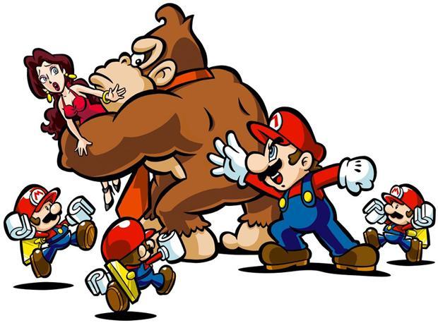 Mario vs Donkey Kong Art