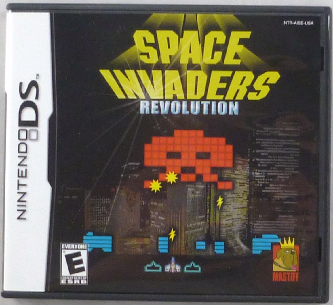 Space Invaders Revolution Cover