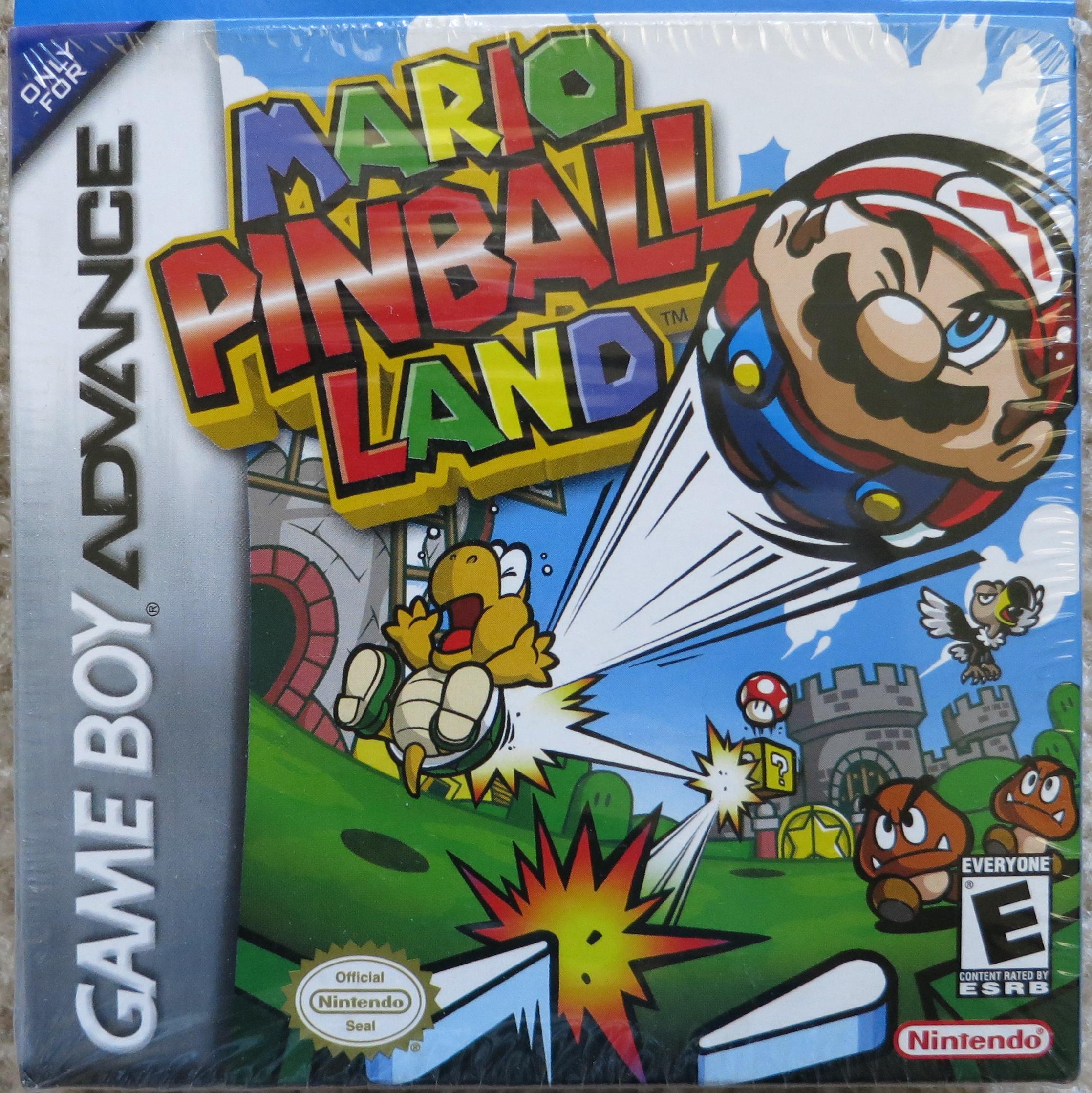 Mario Pinball Land Cover