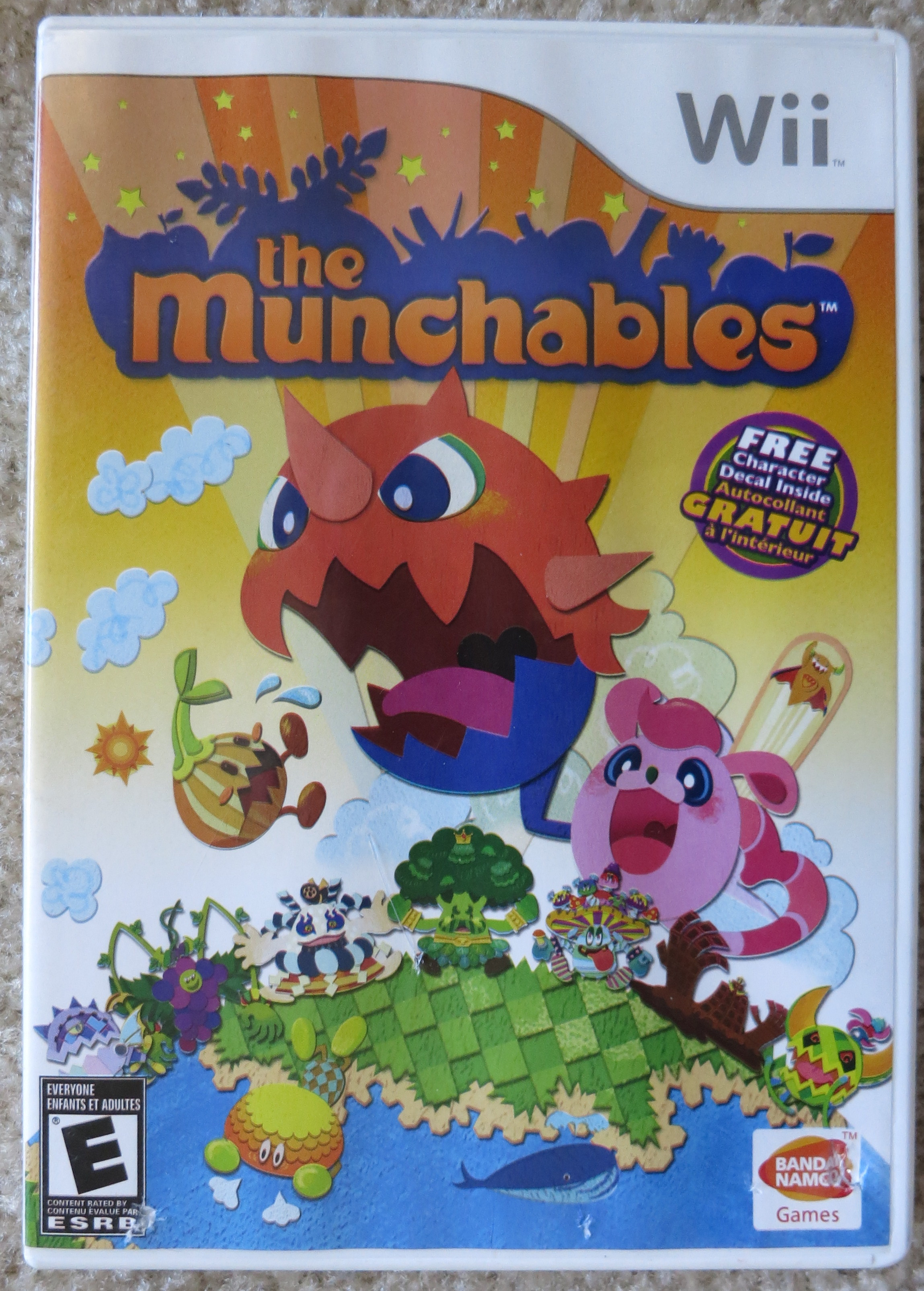 Munchables Cover