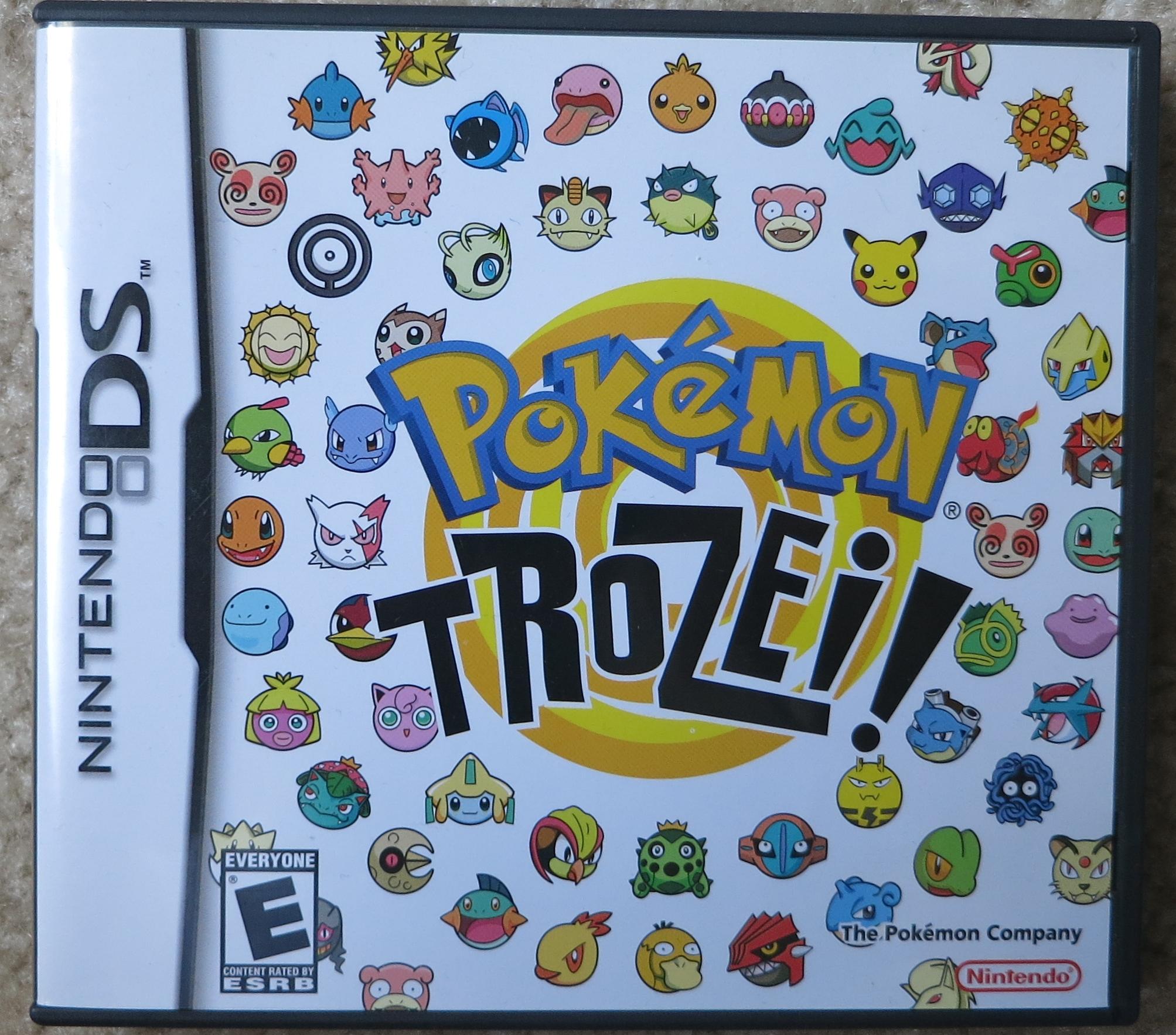 Pokemon Trozei Cover