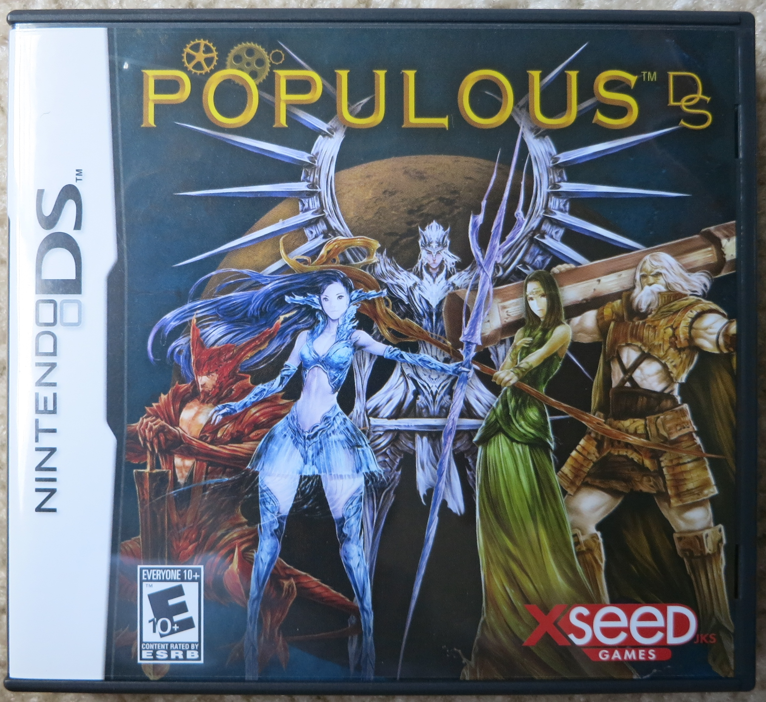 Populous DS Cover