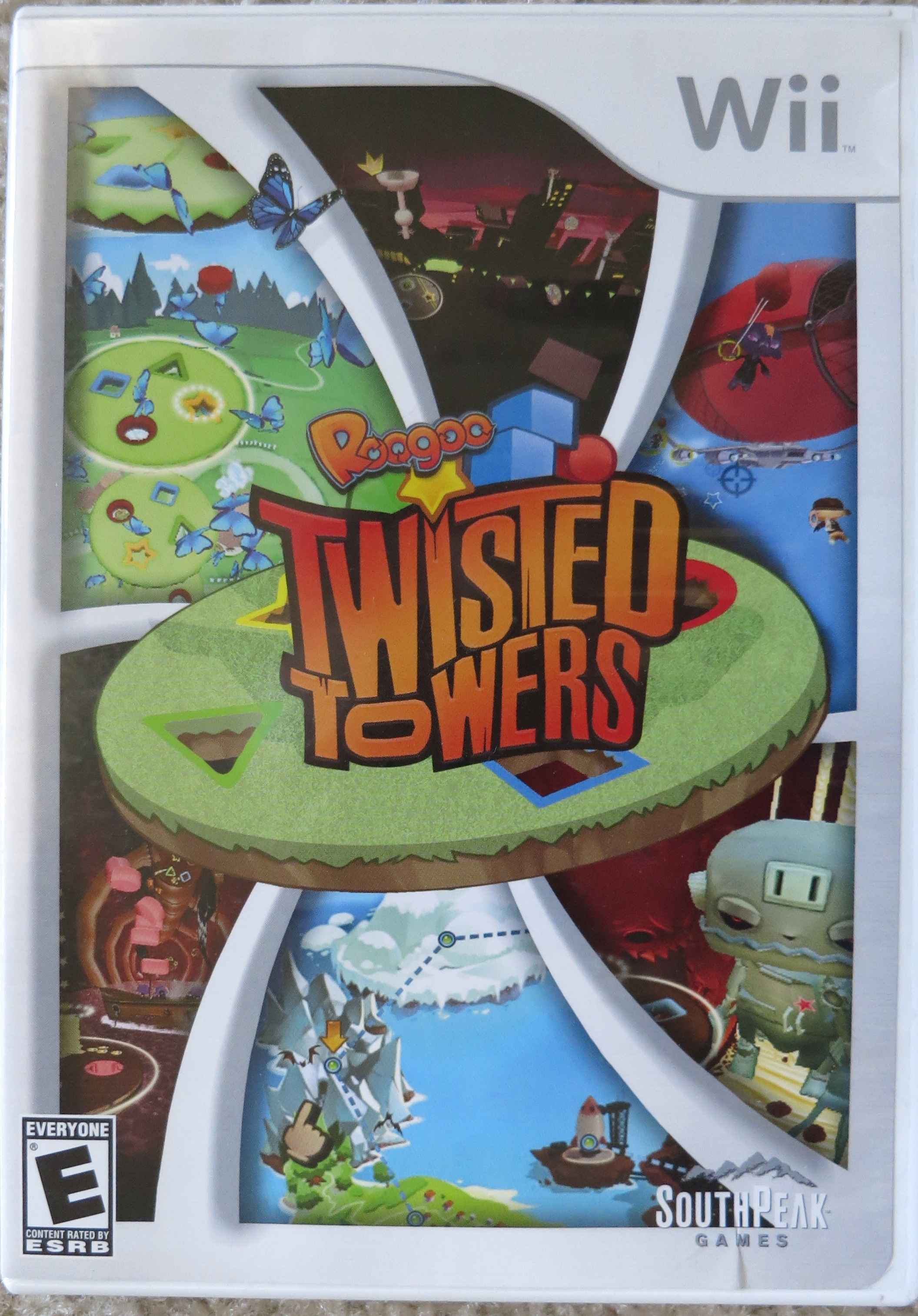Roogoo Twisted Towers Cover