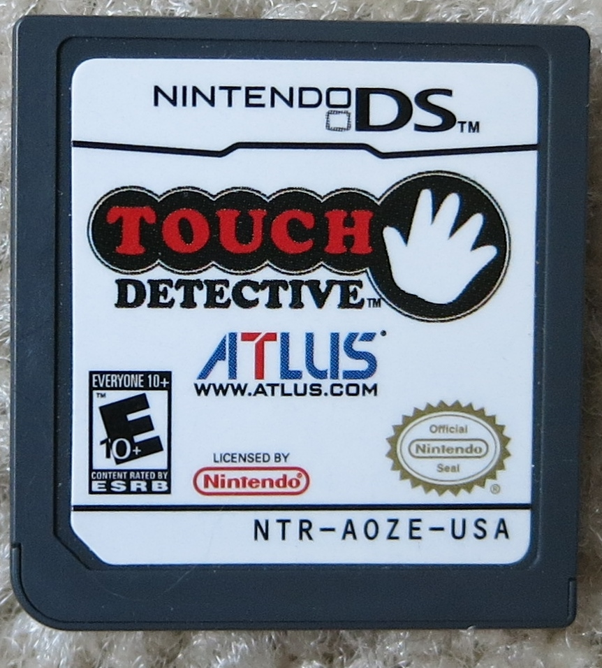 Touch Detective Cartridge
