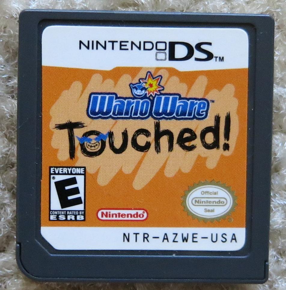 WarioWare Touched Cartridge