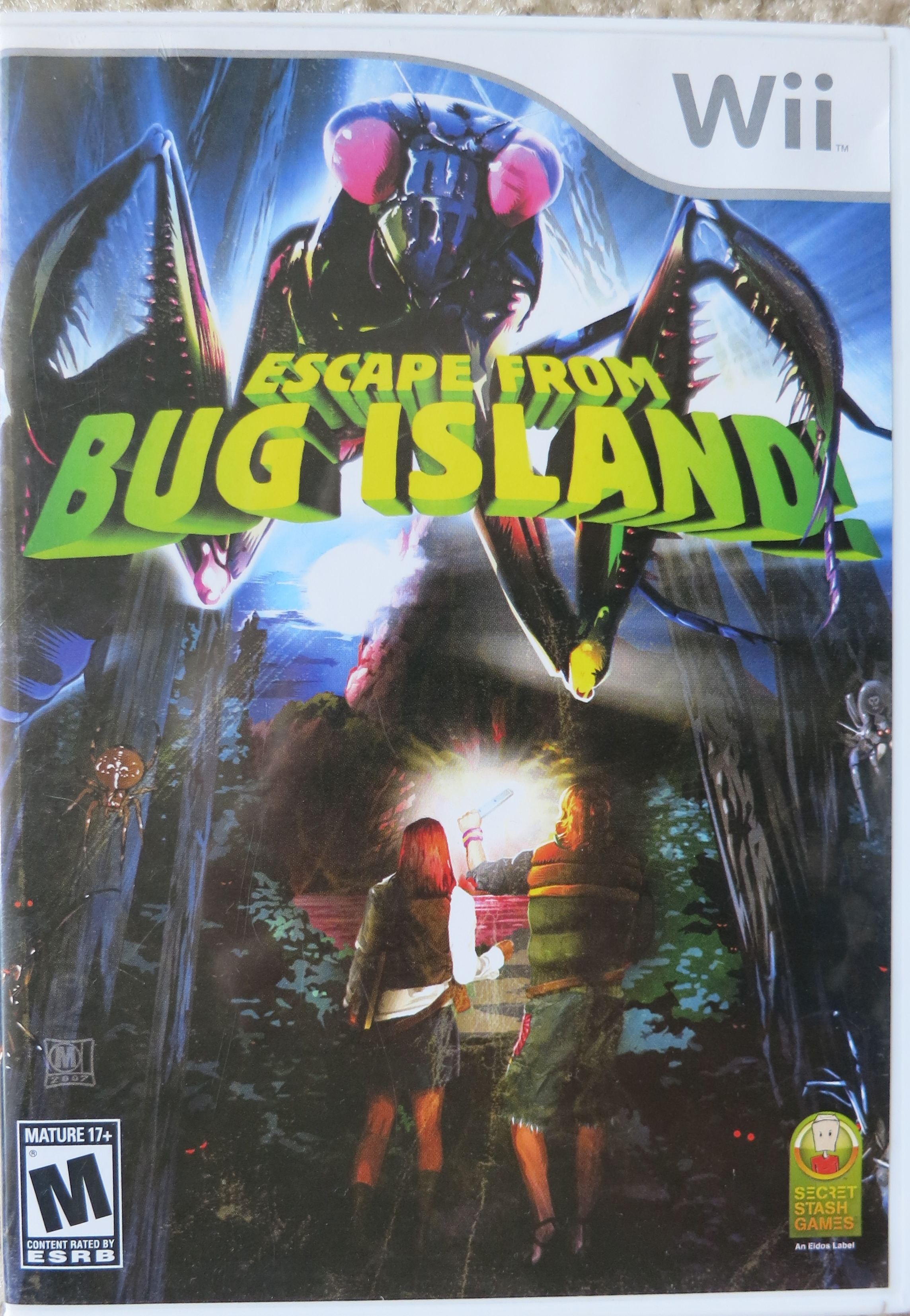 Escape From Bug Island Cover