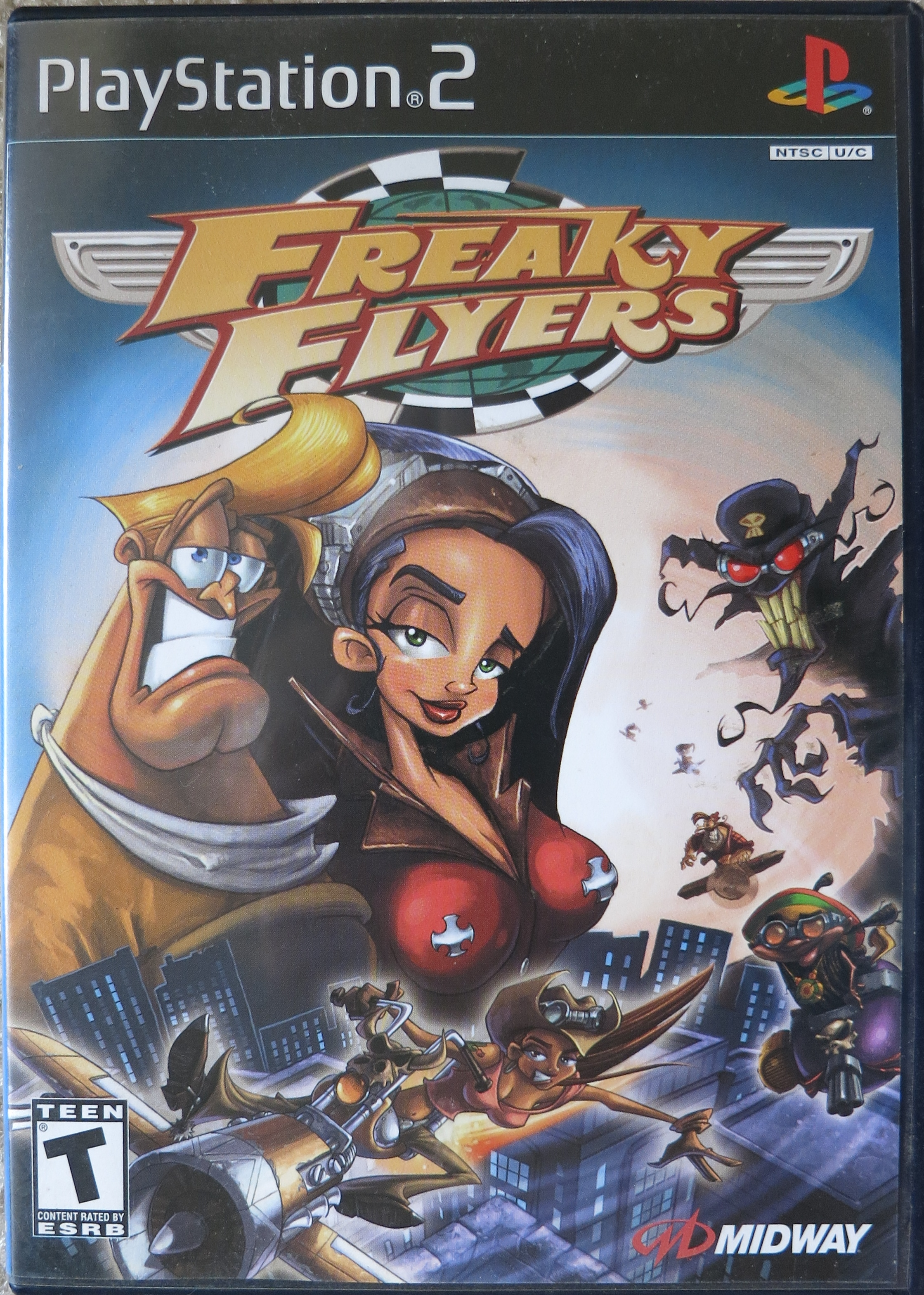 Freaky Flyers Cover