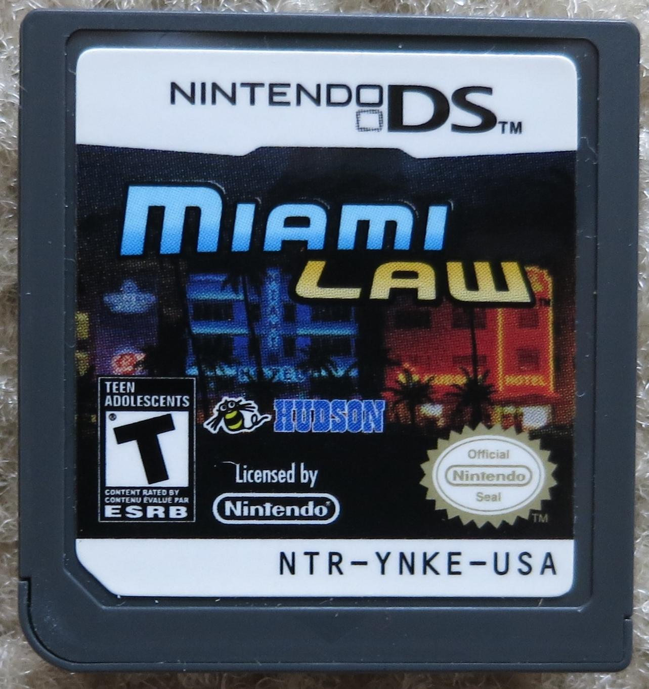 Miami Law Cartridge