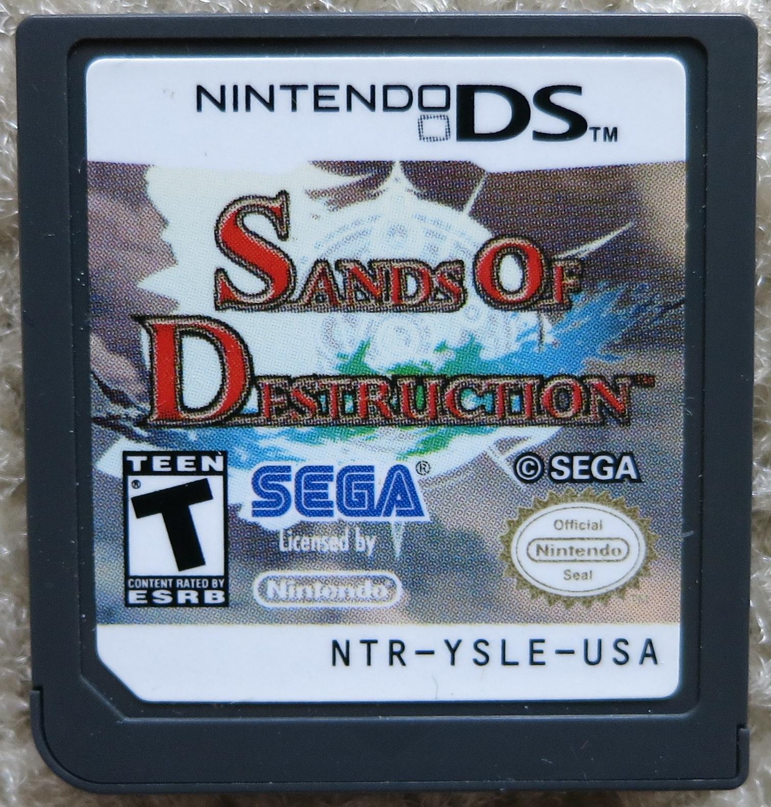 Sands of Destruction Cartridge