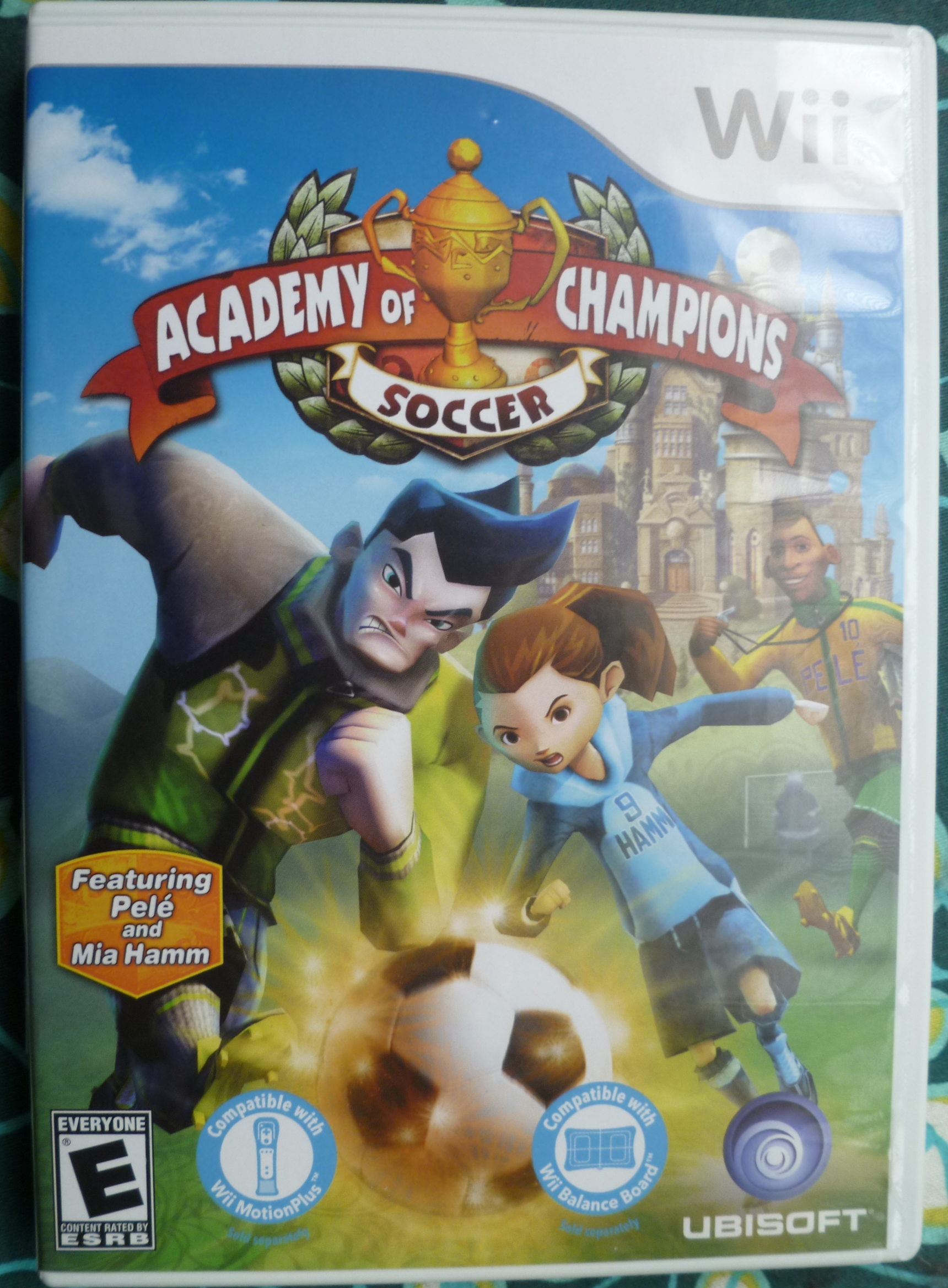 Academy of Champtions Soccer Cover