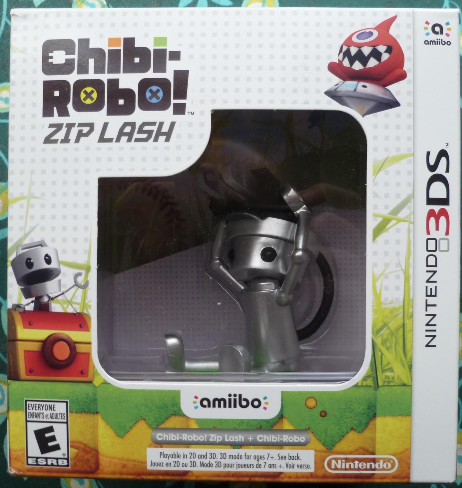 Chibi Robo Zip Lash Cover