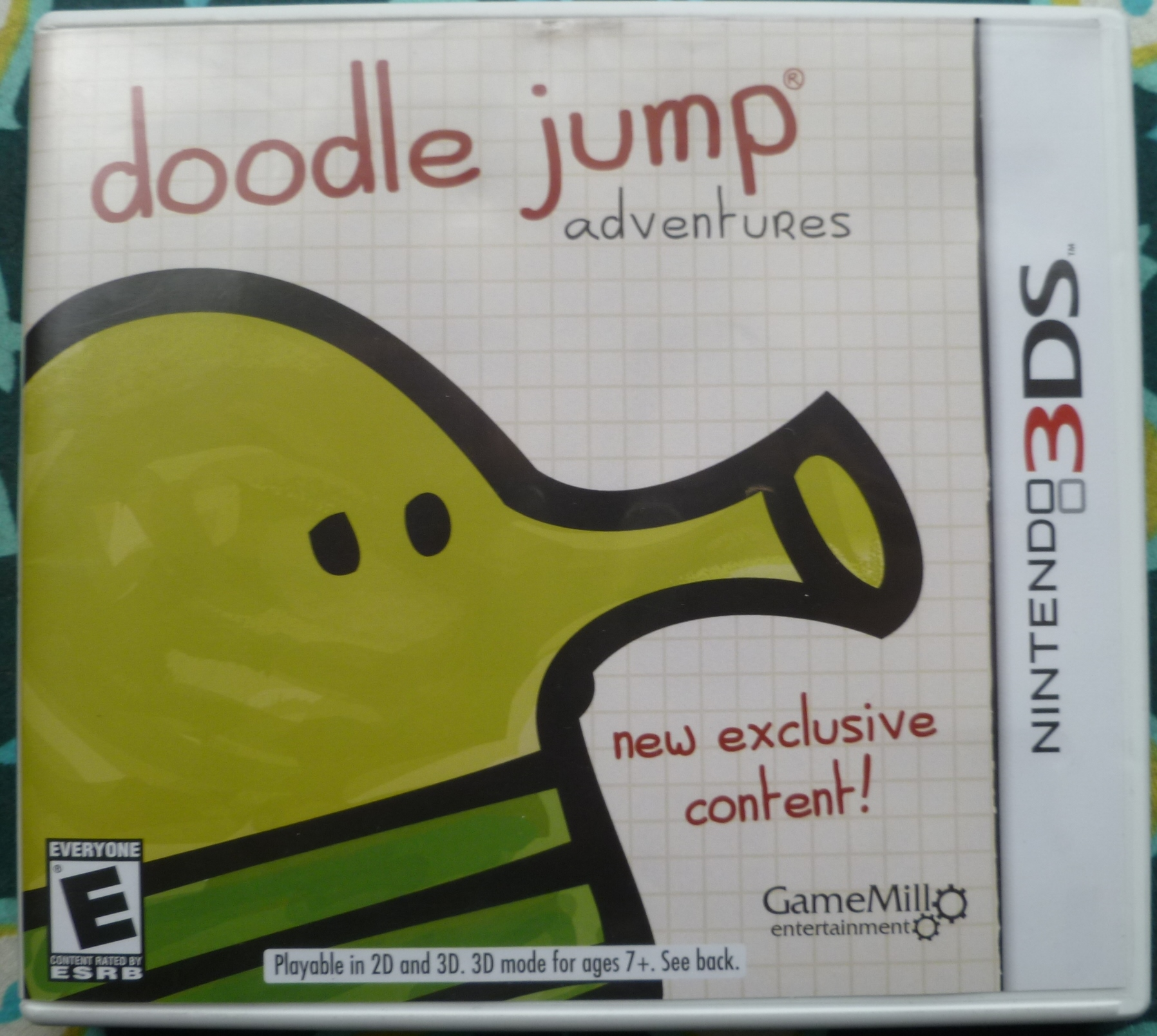 Doodle Jump Adventures Cover