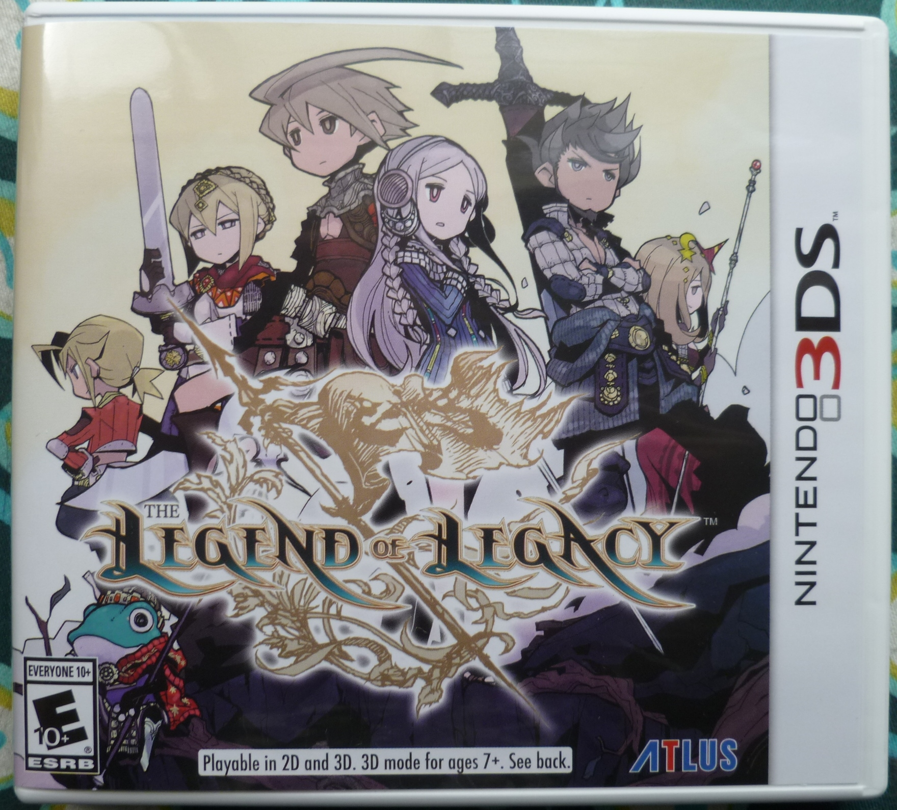 Legend of Legacy Cover