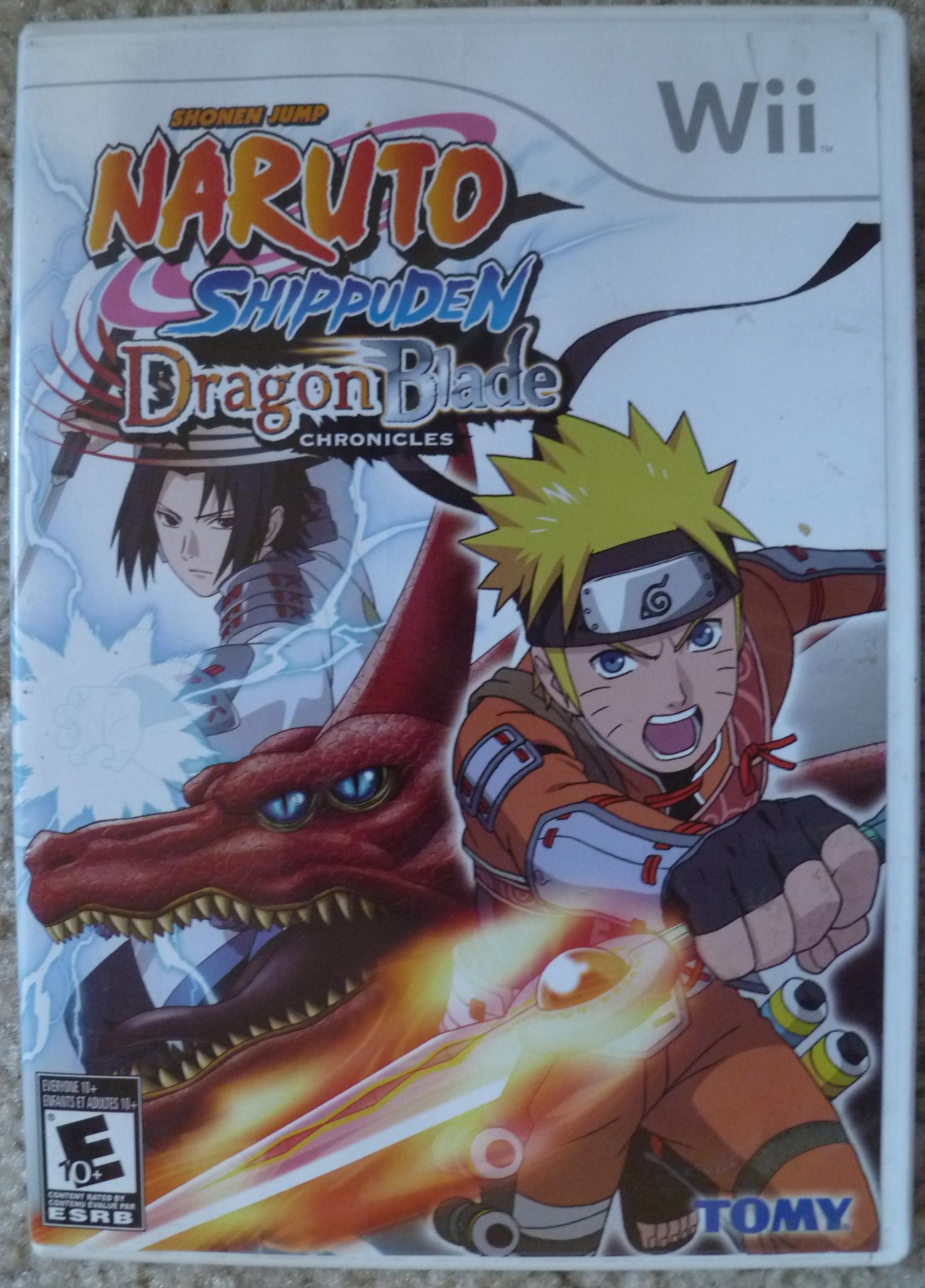 Naruto Shippuden Dragon Blade Chronicles Cover