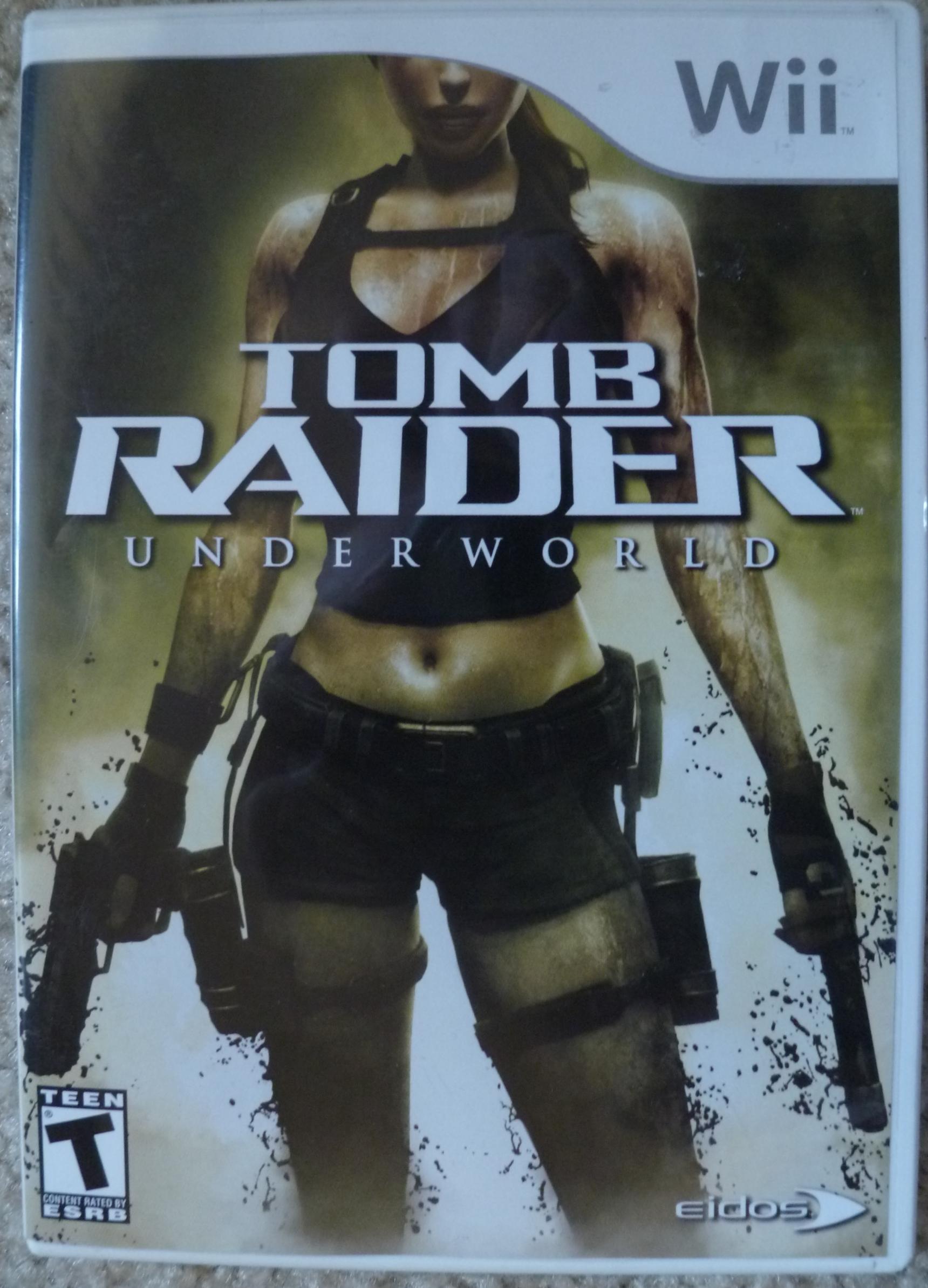 Tomb Raider Underworld (Wii) Cover