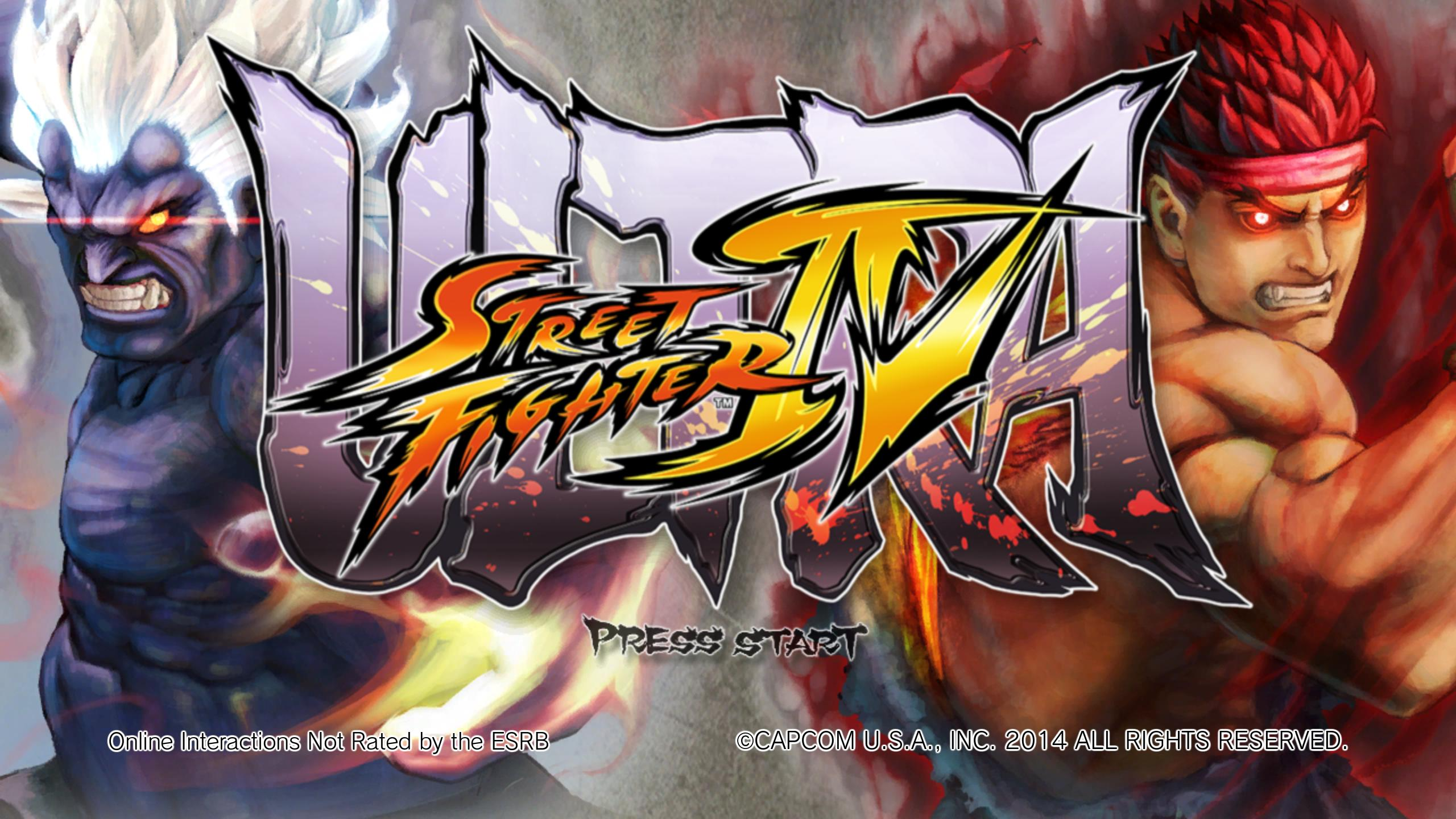 Ultra Street Fighter IV Banner