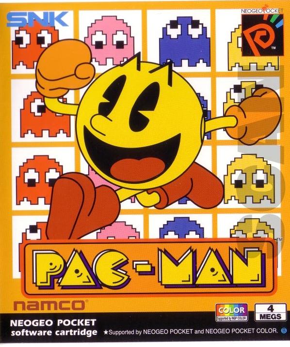 Pac-Man (Neo Geo Pocket) Cover
