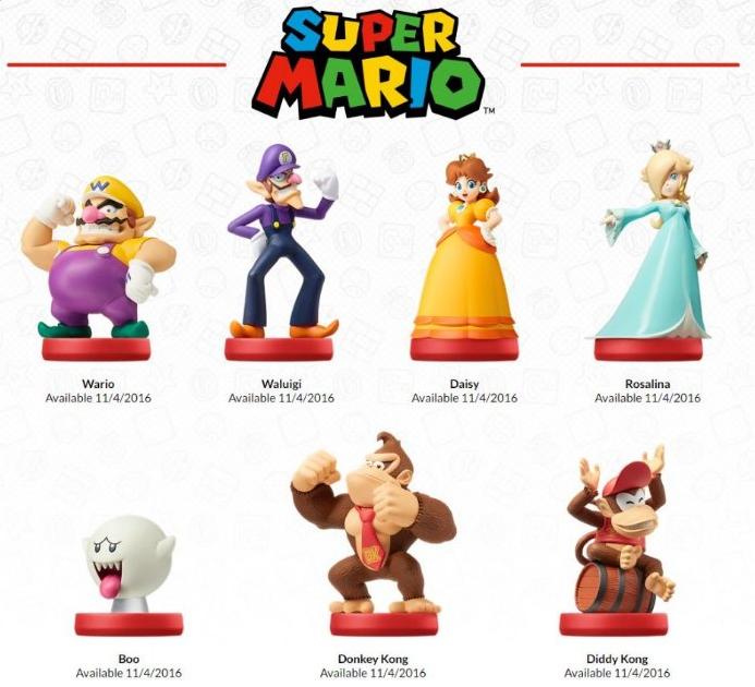 E3 2016 Mario Amiibos
