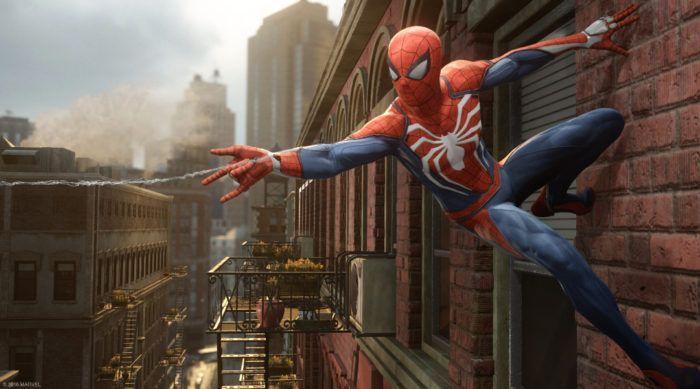 Spider-Man Insomniac Art