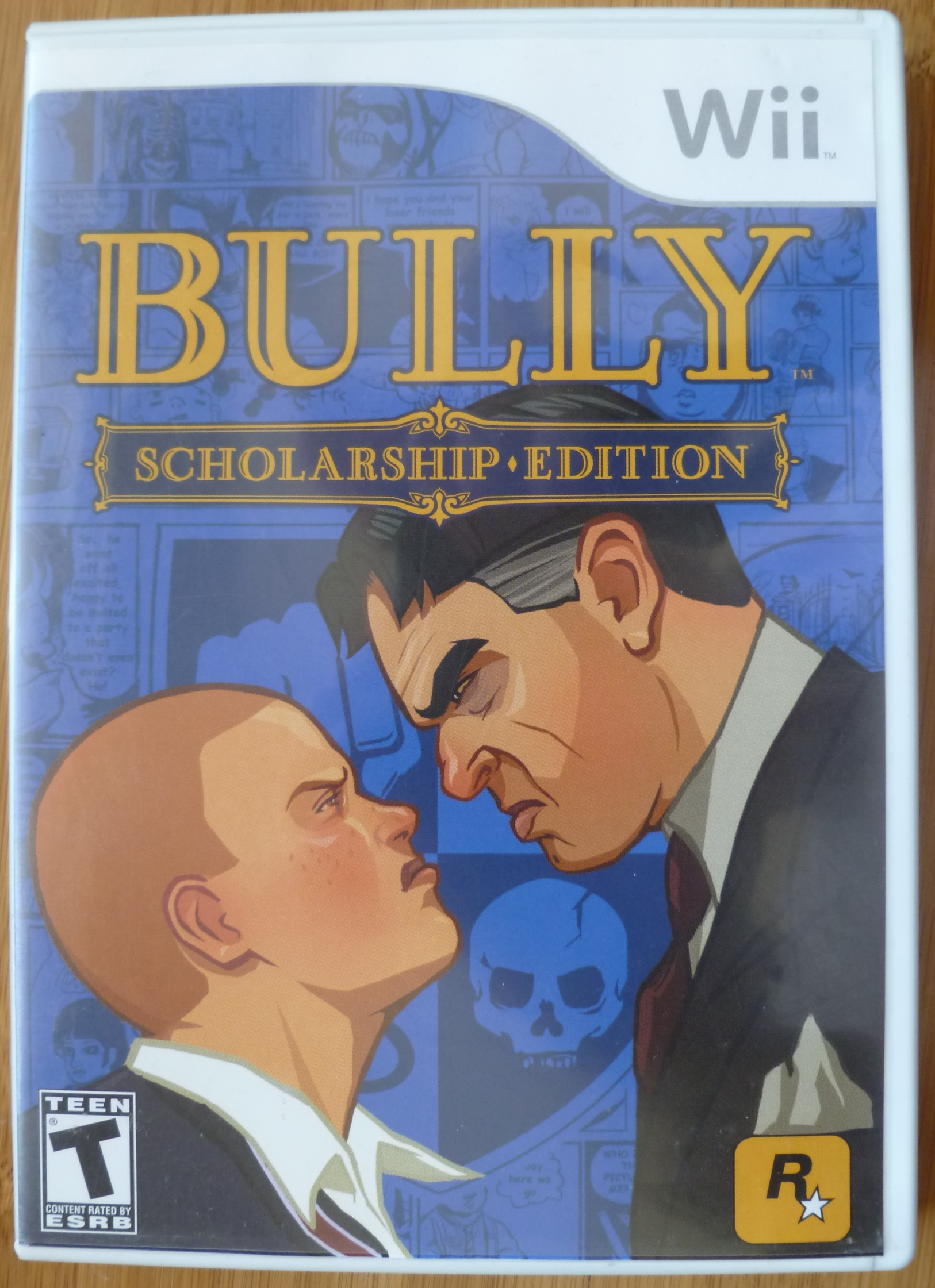 Bully (Wii) Cover