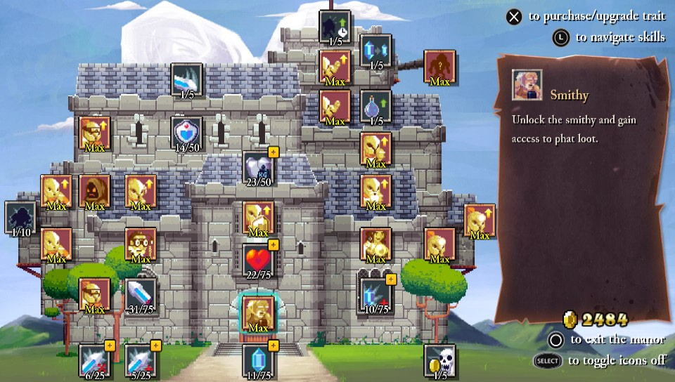Rogue Legacy Upgrades