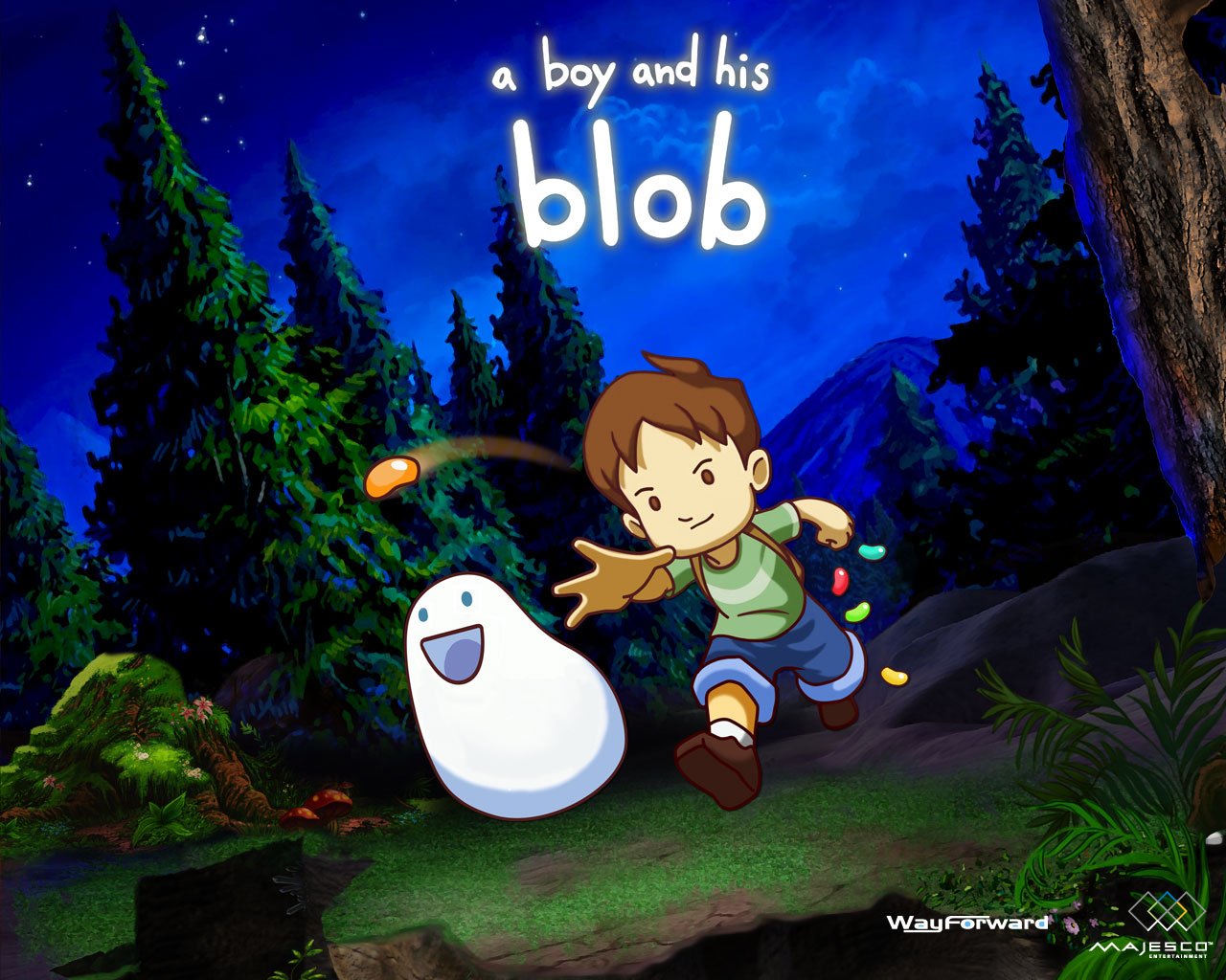 Free Play – A Boy and His Blob