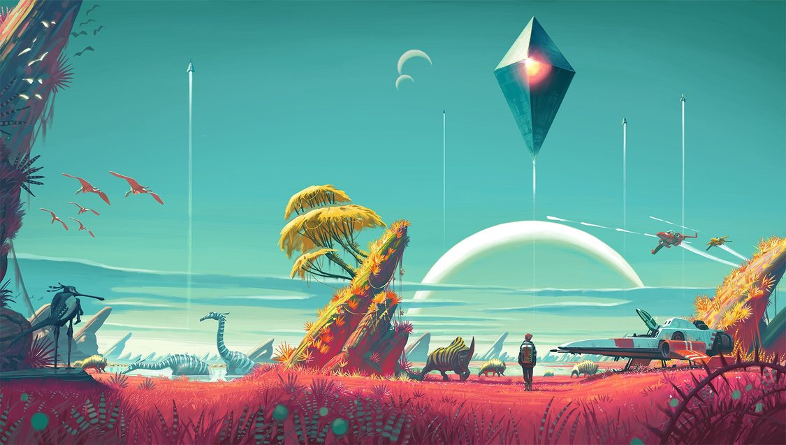 What Exactly is Going on in No Man's Sky?