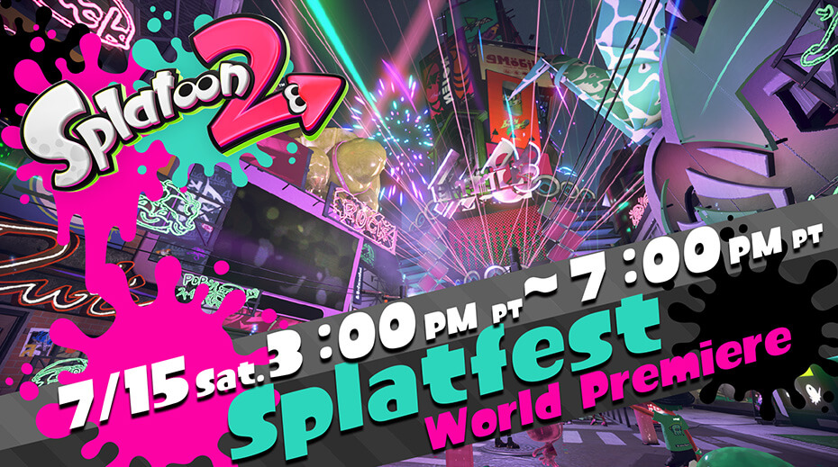The Splatoon 2 Splatfest World Premiere