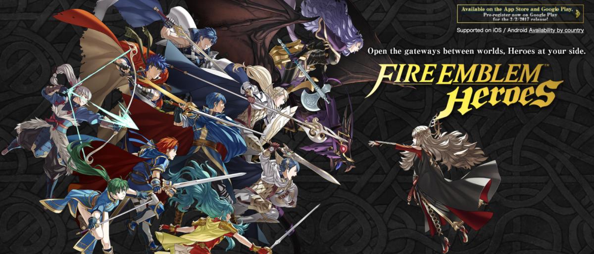 Top Games of 2017: Fire Emblem Heroes