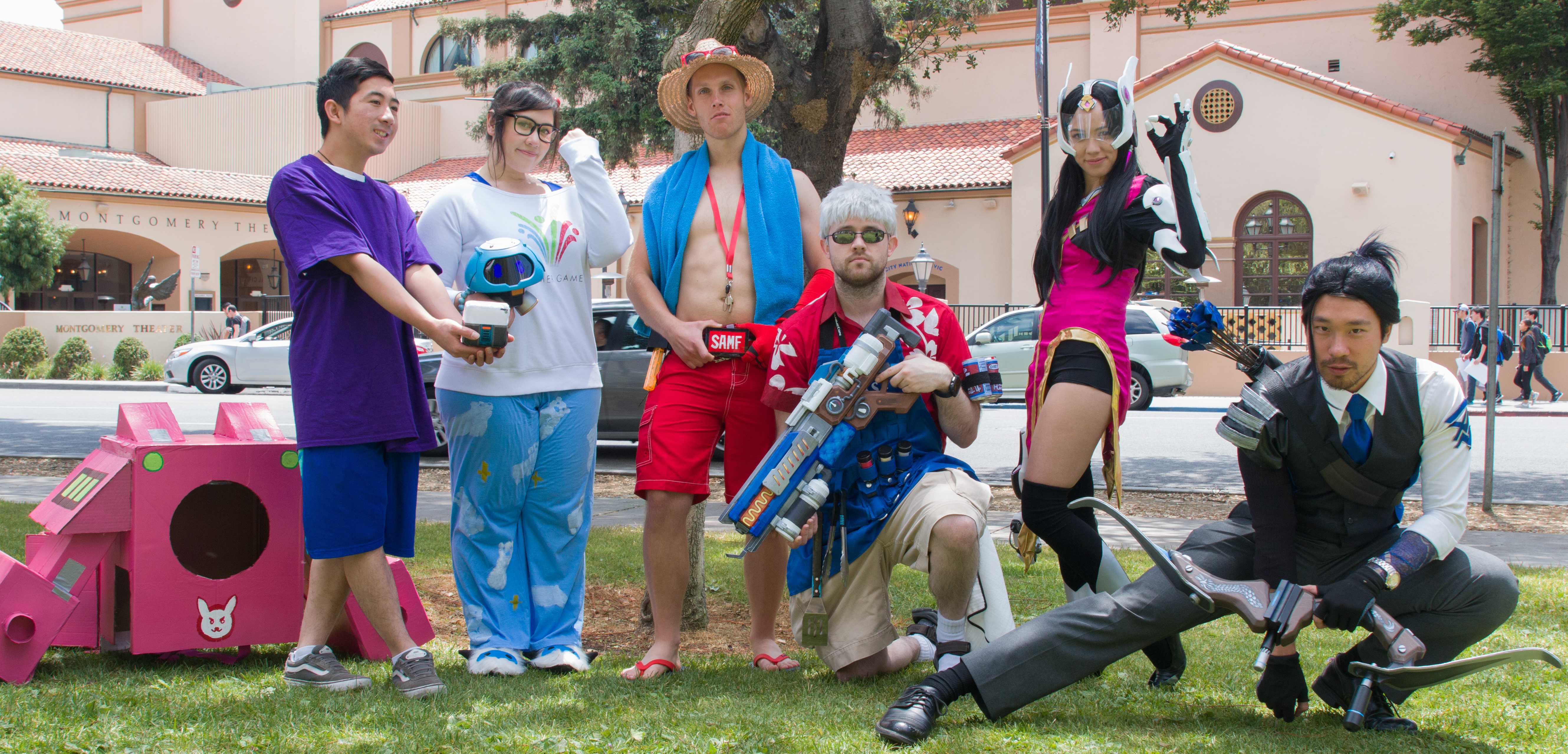 Overwatch Cosplay At FanimeCon 2018!